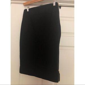 Express adjustable slit pencil skirt. Size 6.